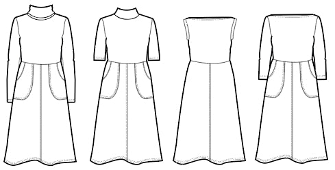 Asta PDF sewing pattern