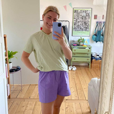 Easy shorts sewing pattern
