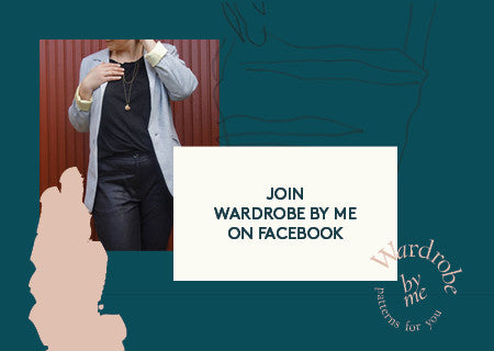 Join Wardrobe By Me PDF sewing pattern on Facebook