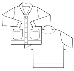 mens PDF downloadable and printable sewing pattern