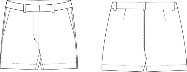 Shorts sewing pattern for women