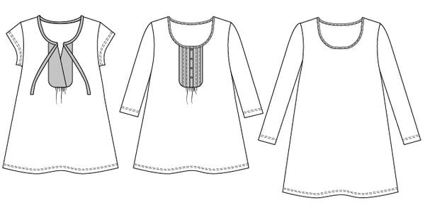 Harmony T-shirt PDF sewing pattern