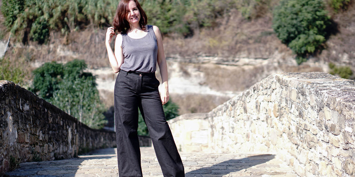 Women's pants PDF sewing pattern