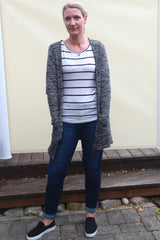 Susanne Cardigan with Wardrobe builder Tee PDF sewing pattern