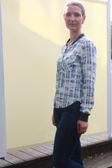 Savannah Shirt with Rib collar