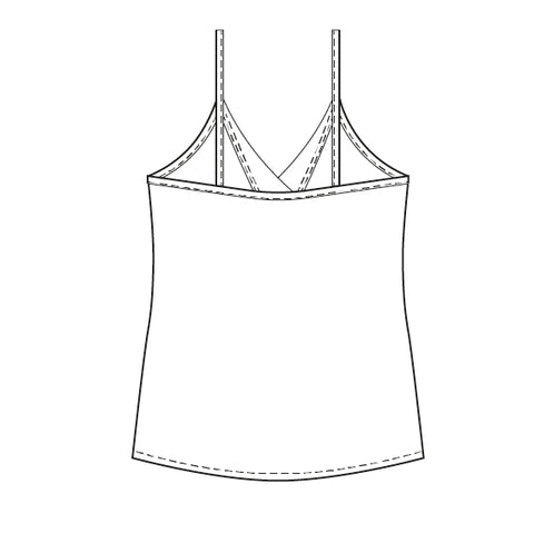India camisole PDF sewing pattern