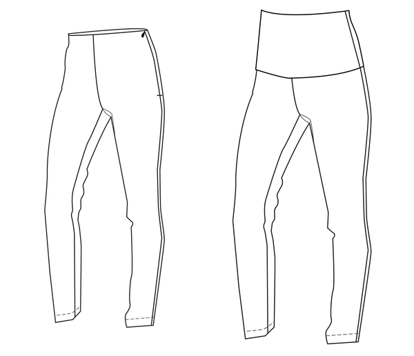 pants PDF sewing pattern