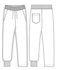 Rebel pants PDf sewing pattern for men