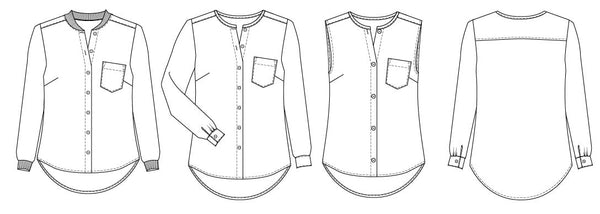 shirt sewing pattern for women