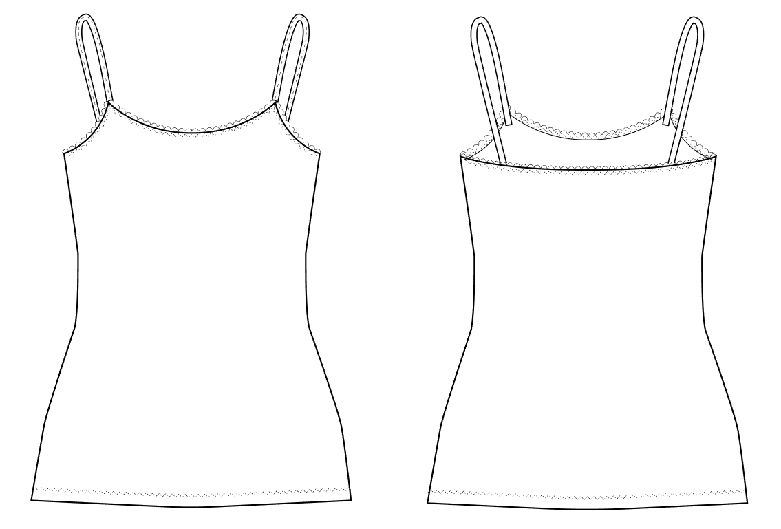 Carma Camisole Underwear Sewing PatternWardrobe By Me PDF
