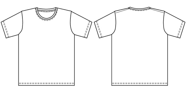 Classic T-shirt PDF sewing pattern