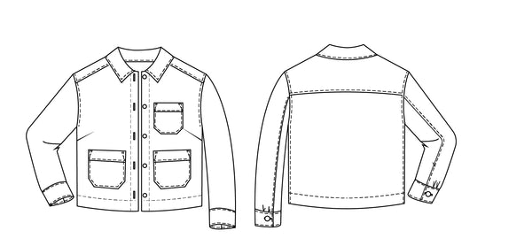The Canvas Jacket sewing pAttern