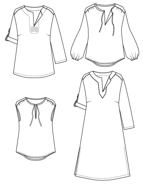 piper tunic sewing pattern