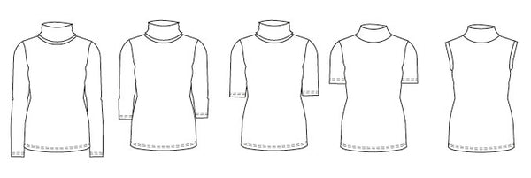 turtleneck sewing pattern