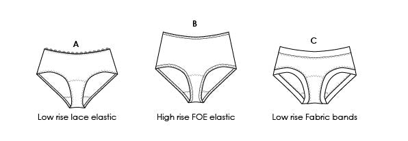 underpants PDF sewing pattern