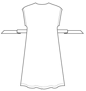 akinori dress PDF sewing pattern