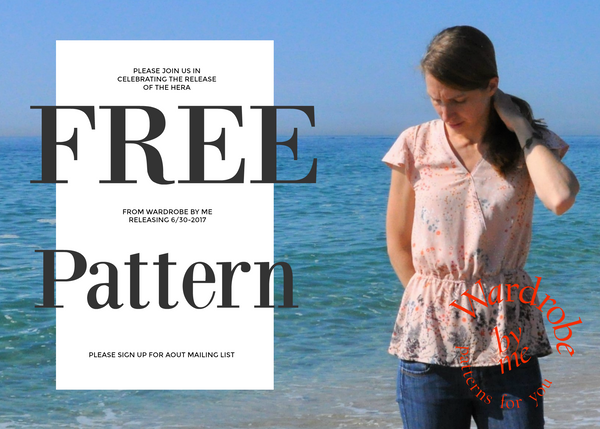 Free PDF sewing pattern from Wardrobe By Me