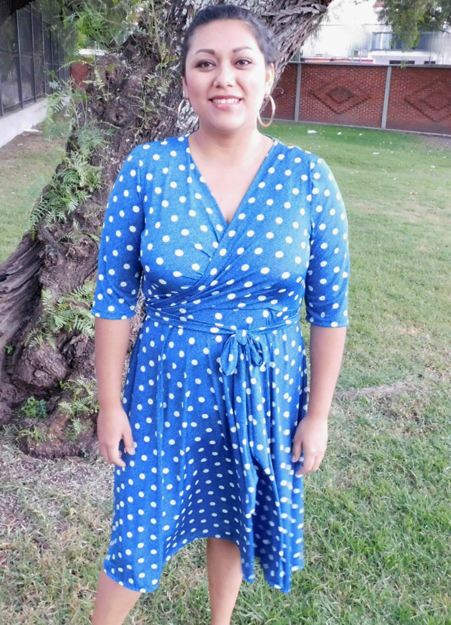 Wanda Wrap Dress Sewing pattern