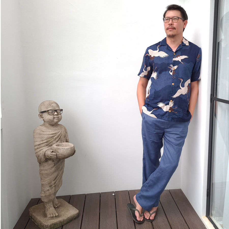 Tropical Shirt sewing pattern - Wardrobe By Me