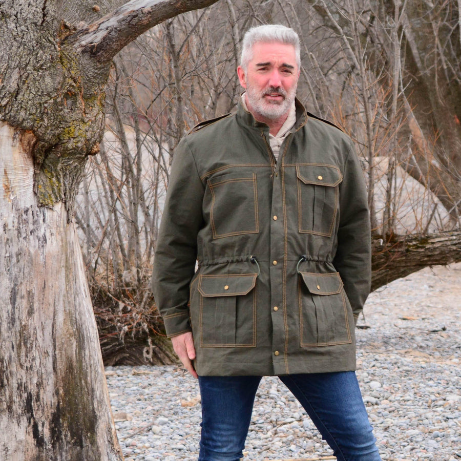 The Utility Jacket sewing pattern