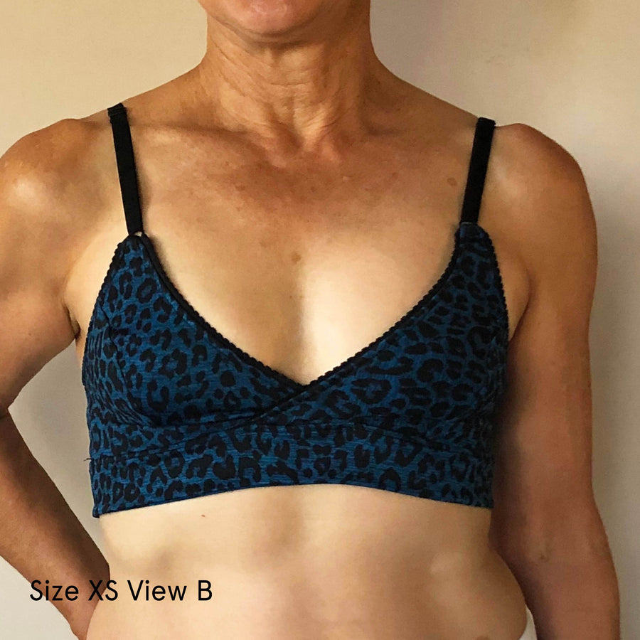 WBM Bralette sewing pattern - Wardrobe By Me