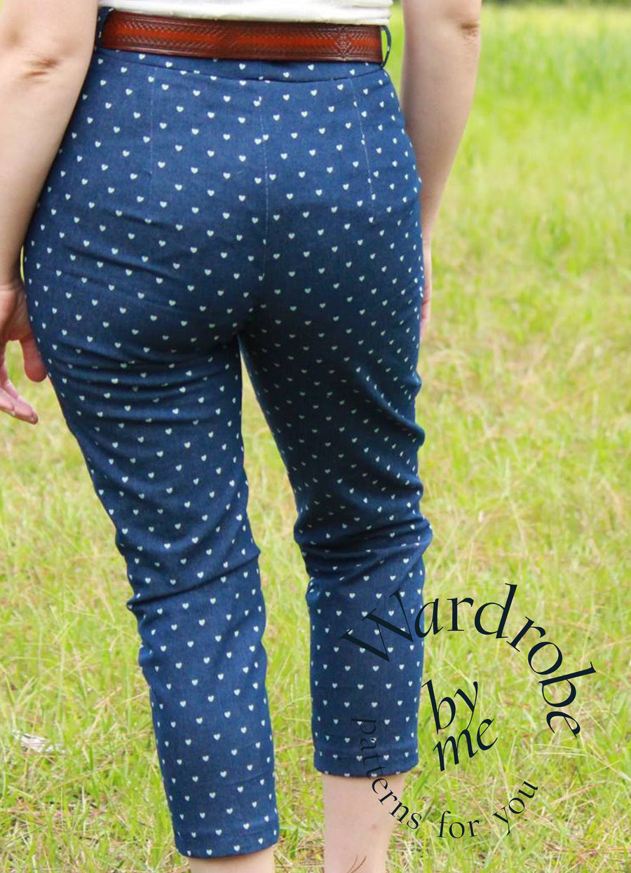 PDF sewing pattern Pants - Perfect Fitting Pants