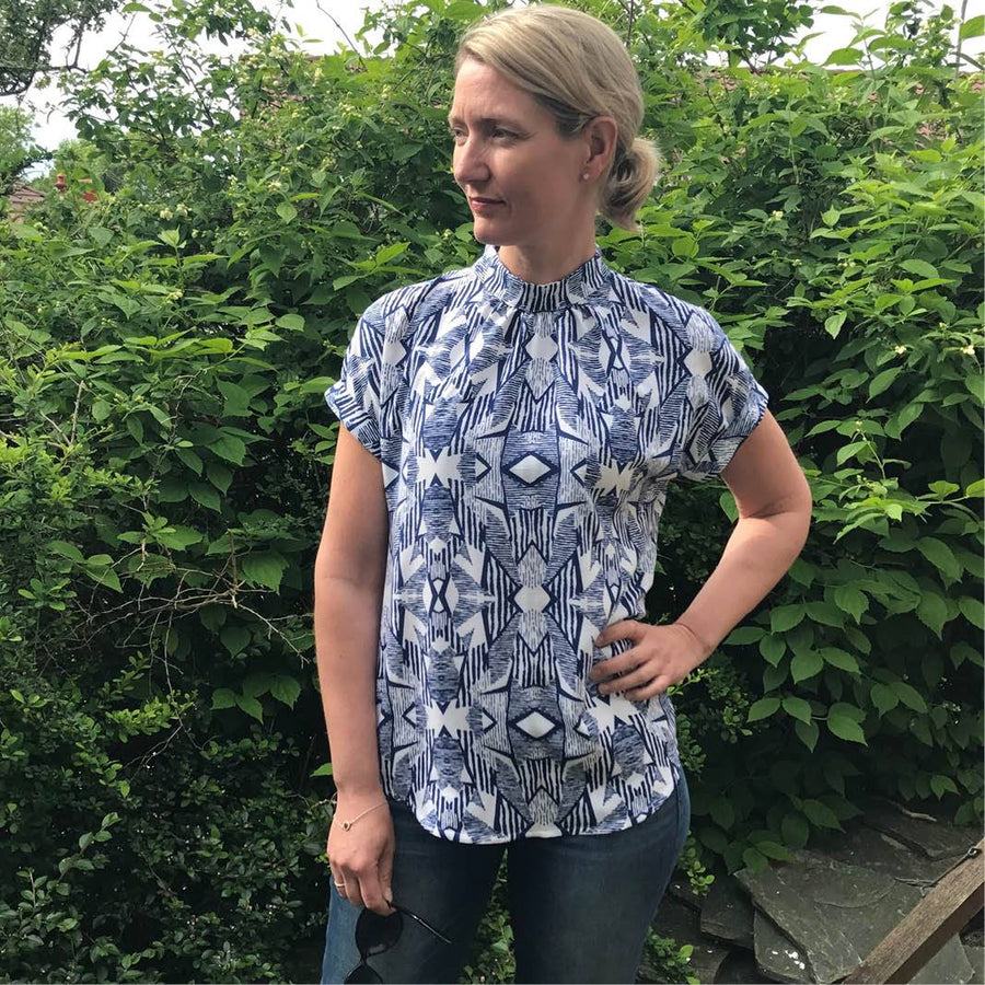 PDF Sewing Pattern - Tulip Summer Top Sewing Pattern