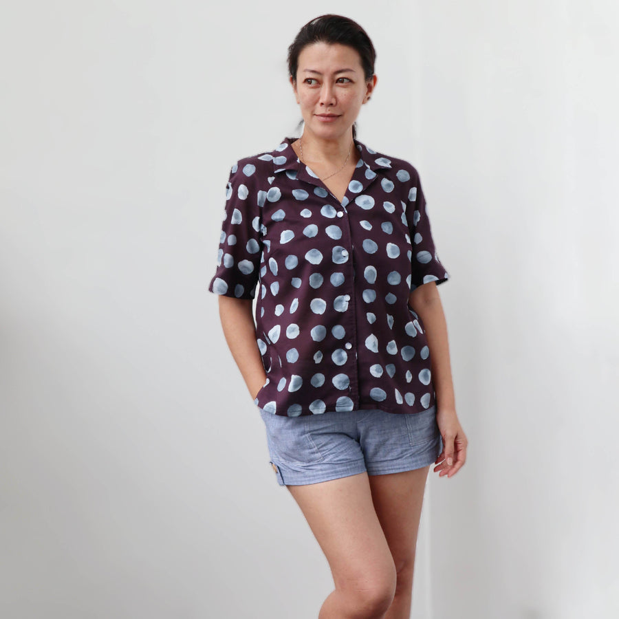 Tropicana Shirt sewing pattern - Wardrobe By Me