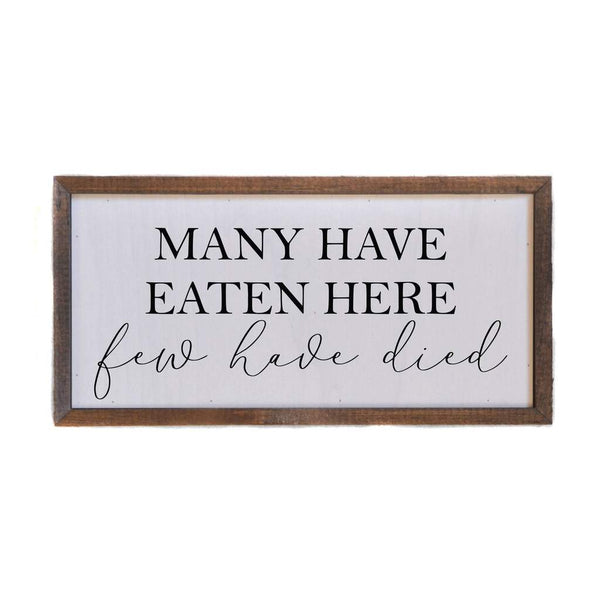 Inspirational and Humorous Wall Decor