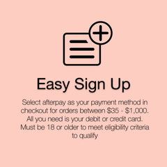 Buy Now, Pay Later with Easy Installments by Afterpay