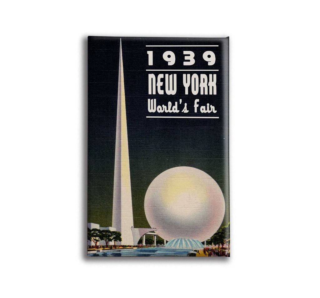 Oso + Bean - New York World Fair Magnet