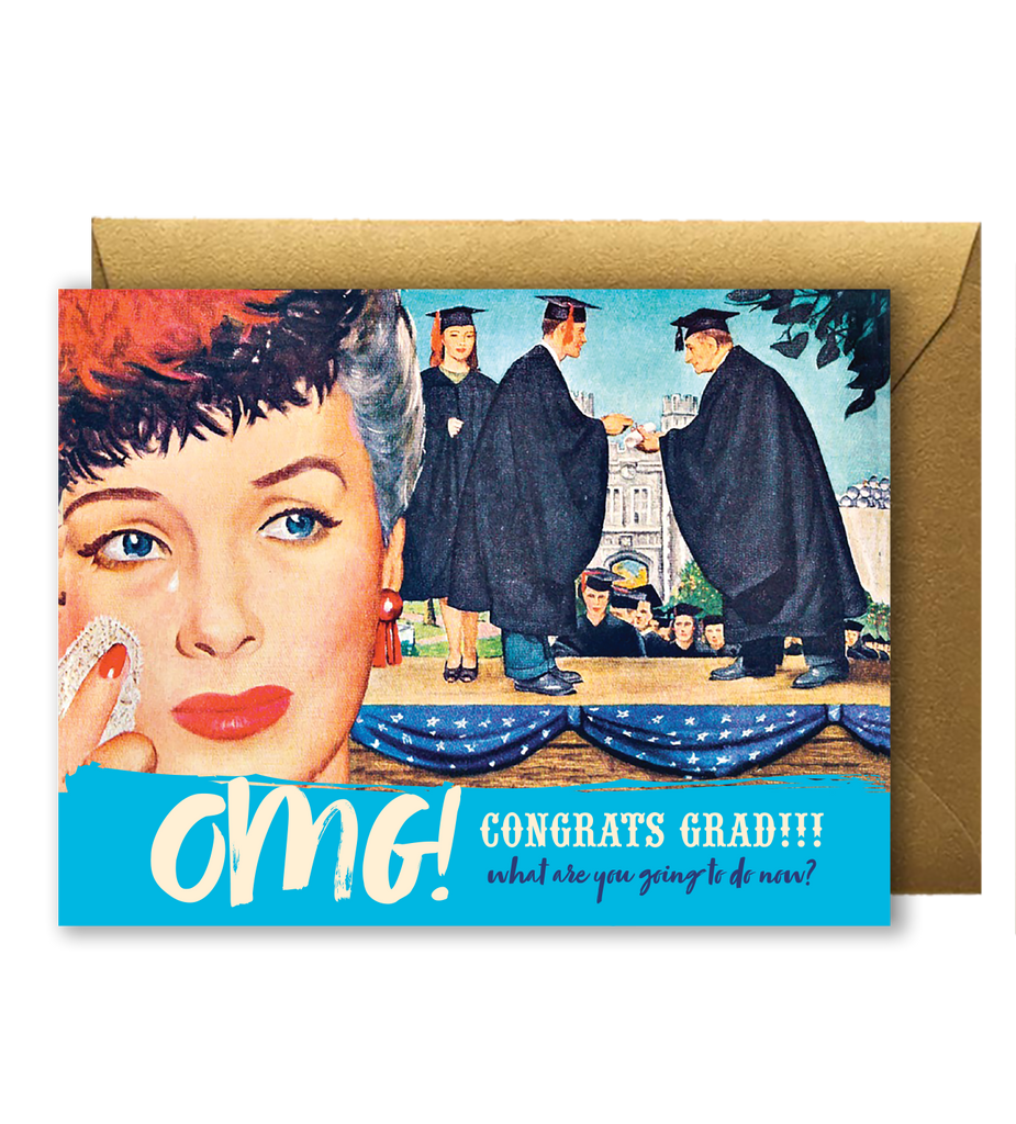Offensive + Delightful - OMG! Congrats Grad!!! What are you going to do now?