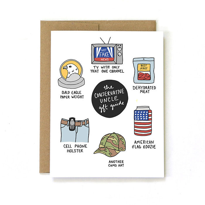 The Conservative Uncle Gift Guide - Birthday Greeting Card