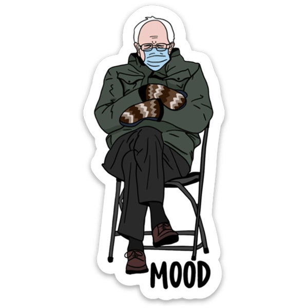 Bernie Inauguration - Mood Decal