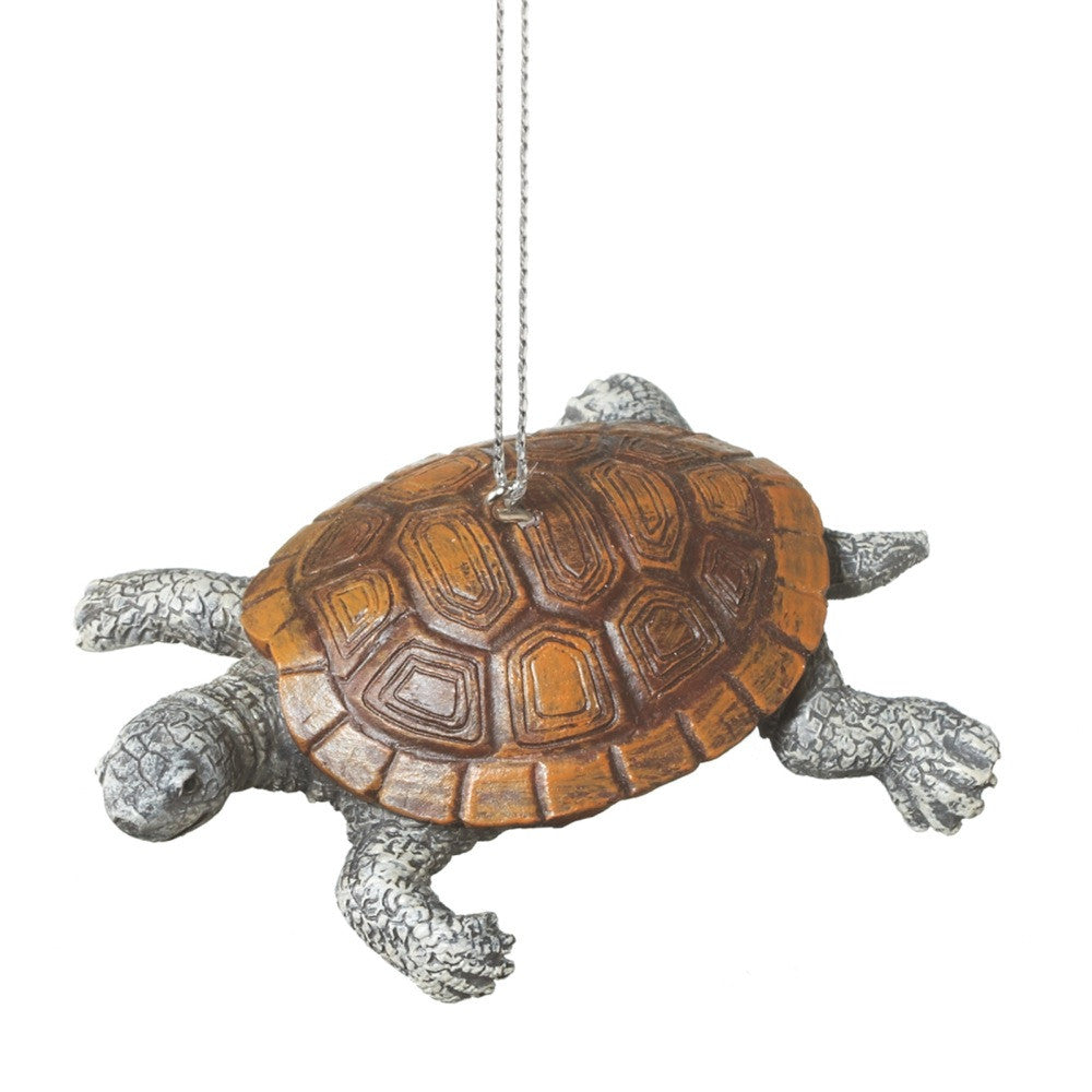 Black Diamond Turtle Tortoise Holiday Christmas Ornament - Mellow Monkey