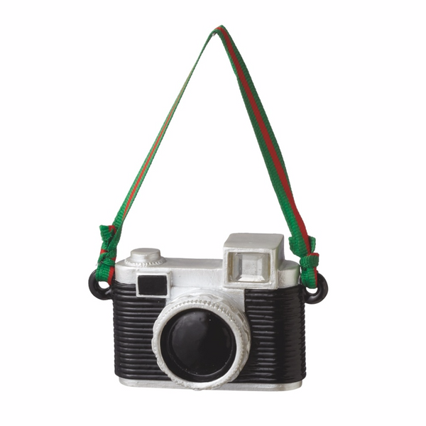 35mm Vintage Retro Style Camera Ornament - Mellow Monkey  - 1