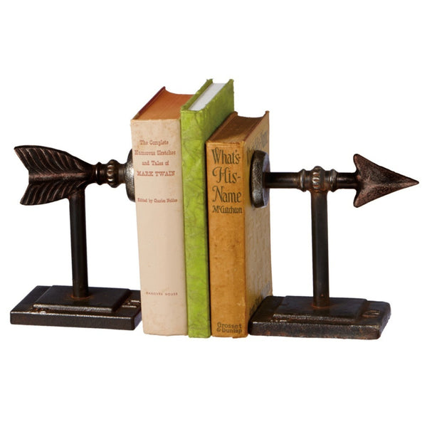 Arrow Vintage Bookend Pair - Mellow Monkey