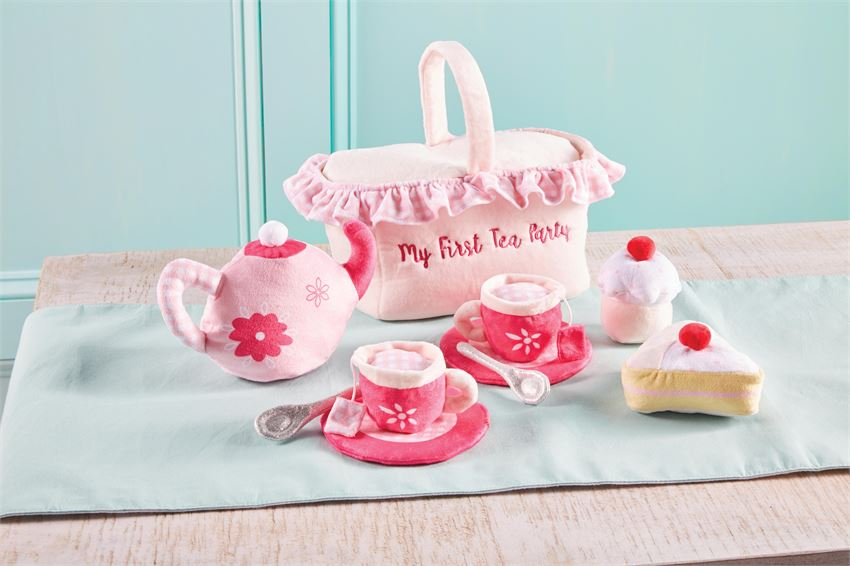 My First Tea Party Plush Play Set