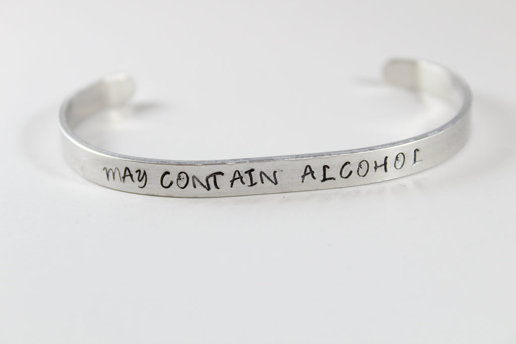 May Contain Alcohol Bracelet
