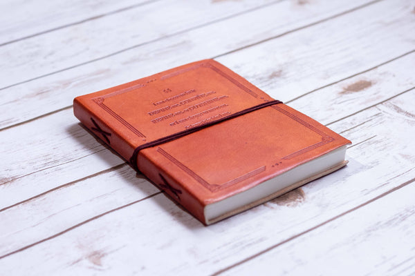 I Can Choose - Handmade Leather Journal