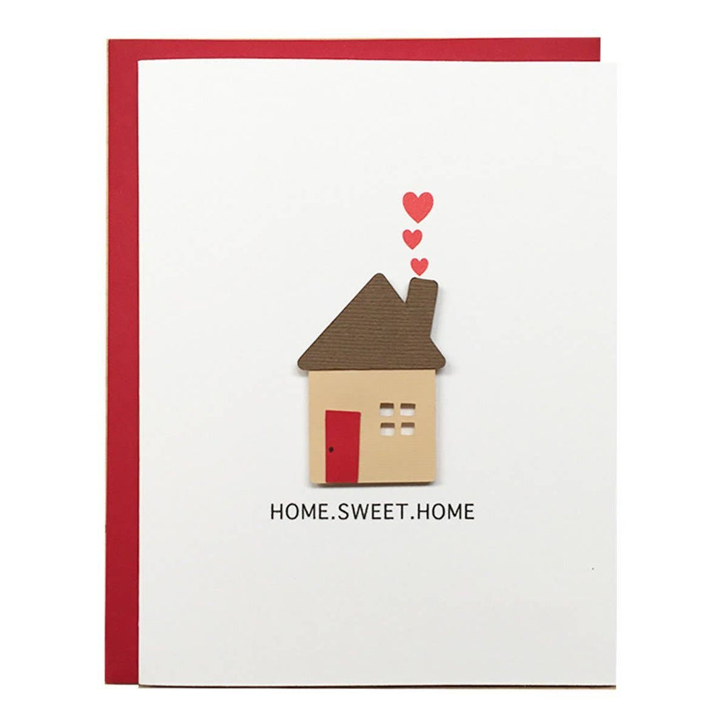 Home Sweet Home - New Home Housewarming Greeting Card