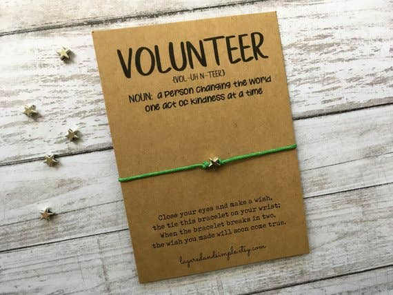 Volunteer Wish Bracelet