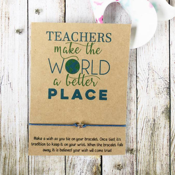 Wishlets - Teachers Make The World A Better Place