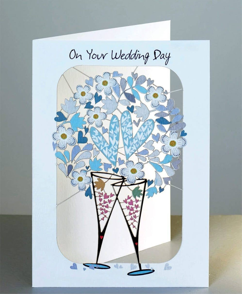 Shadywood Designs - On Your Wedding Day - Laser Cut Greeting Card