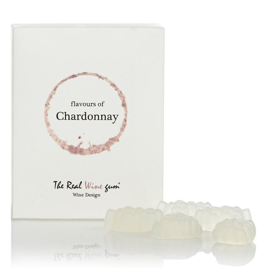 Vinoos Sophisticated Wine Gummies - Flavors of Chardonnay - 1.8-oz Small Gift Box