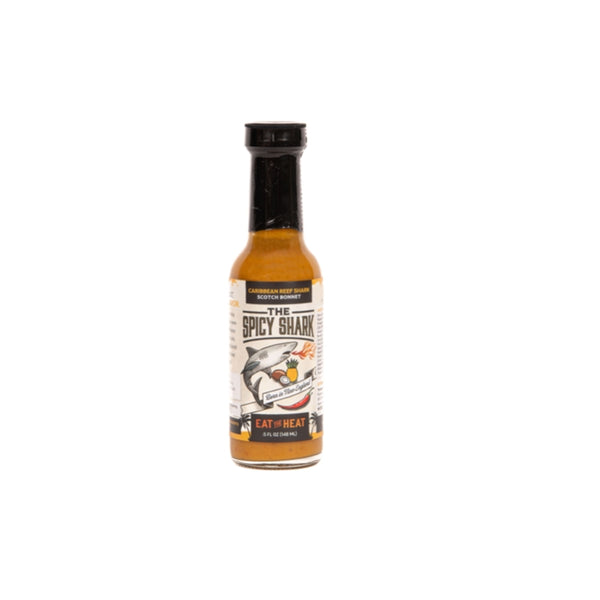 The Spicy Shark Hot Sauce Gift Set - 6 Hot Sauces