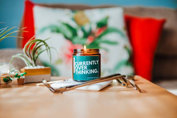 Currently Overthinking - Soy Candle - 4oz