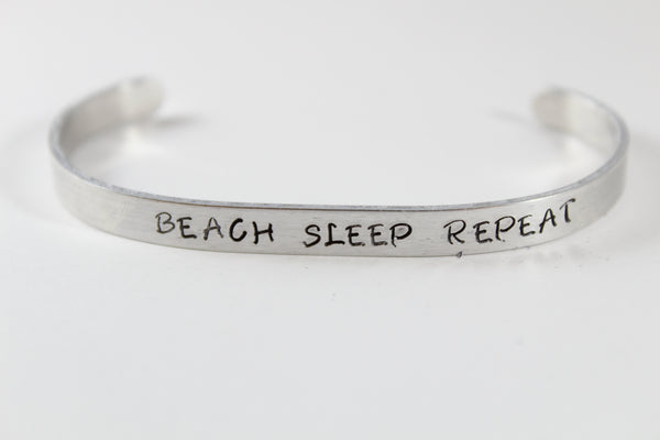 Acara's Jewelry - Eat Beach Sleep Repeat Bracelet
