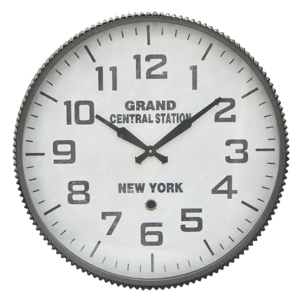 Grand Central Station Metal Wall Clock - 23-in