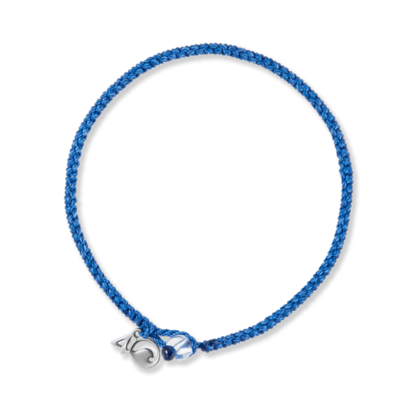 4Ocean Signature Braided Bracelet - Blue